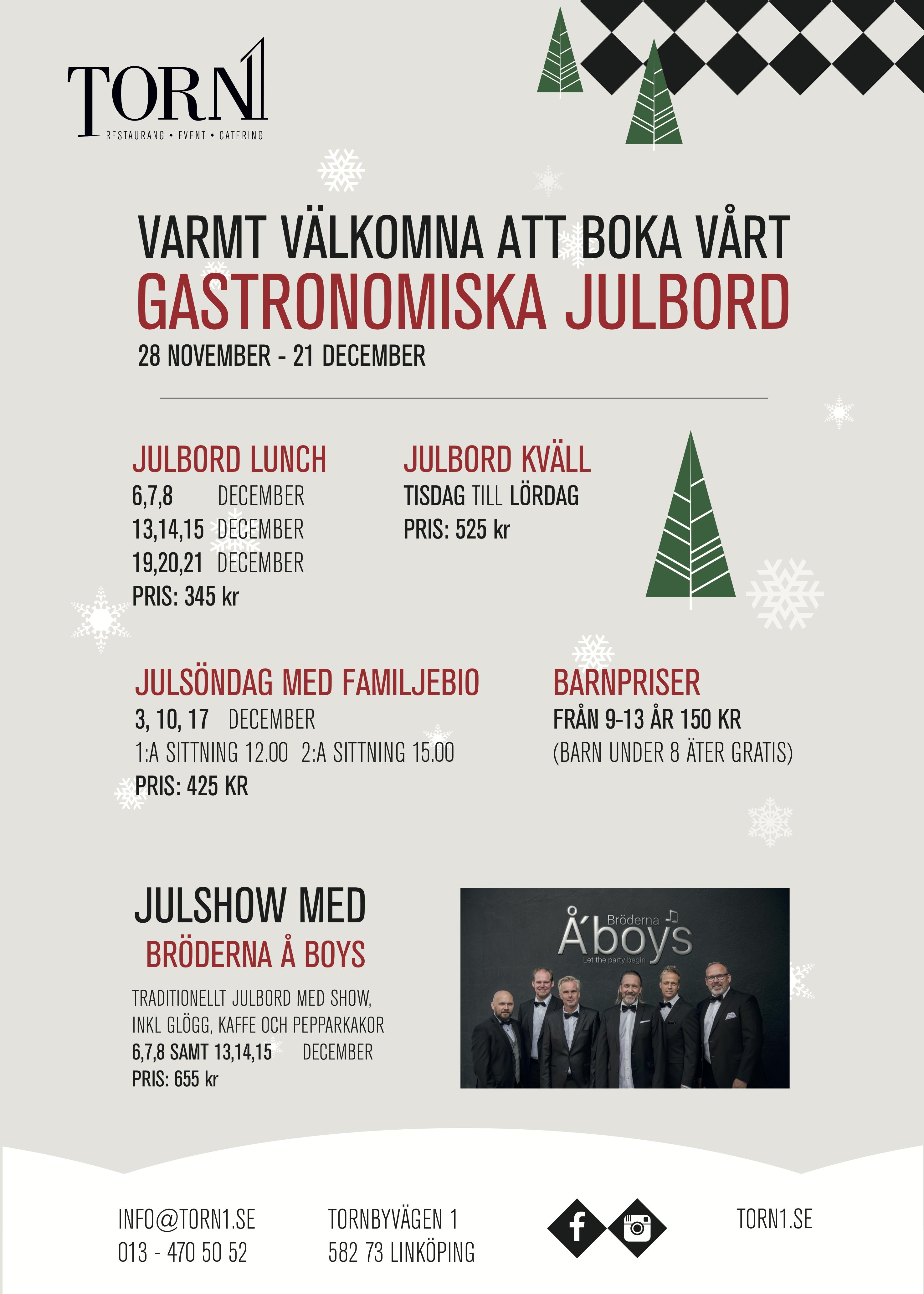 Julbord Torn1 - Linköping
